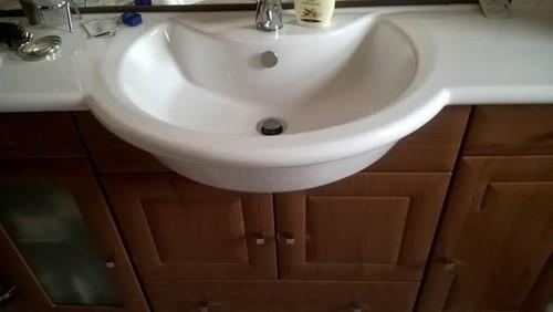 Sostituire lavabo su mobile bagno - Mobile bagno profondita 40 ...