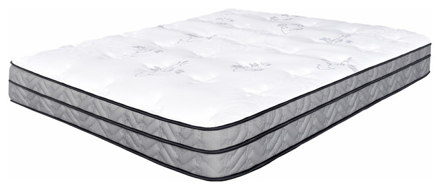 "Spectra Orthopedic Mattress Break-Thru 11.5"" Medium Firm Euro-Top, Queen."