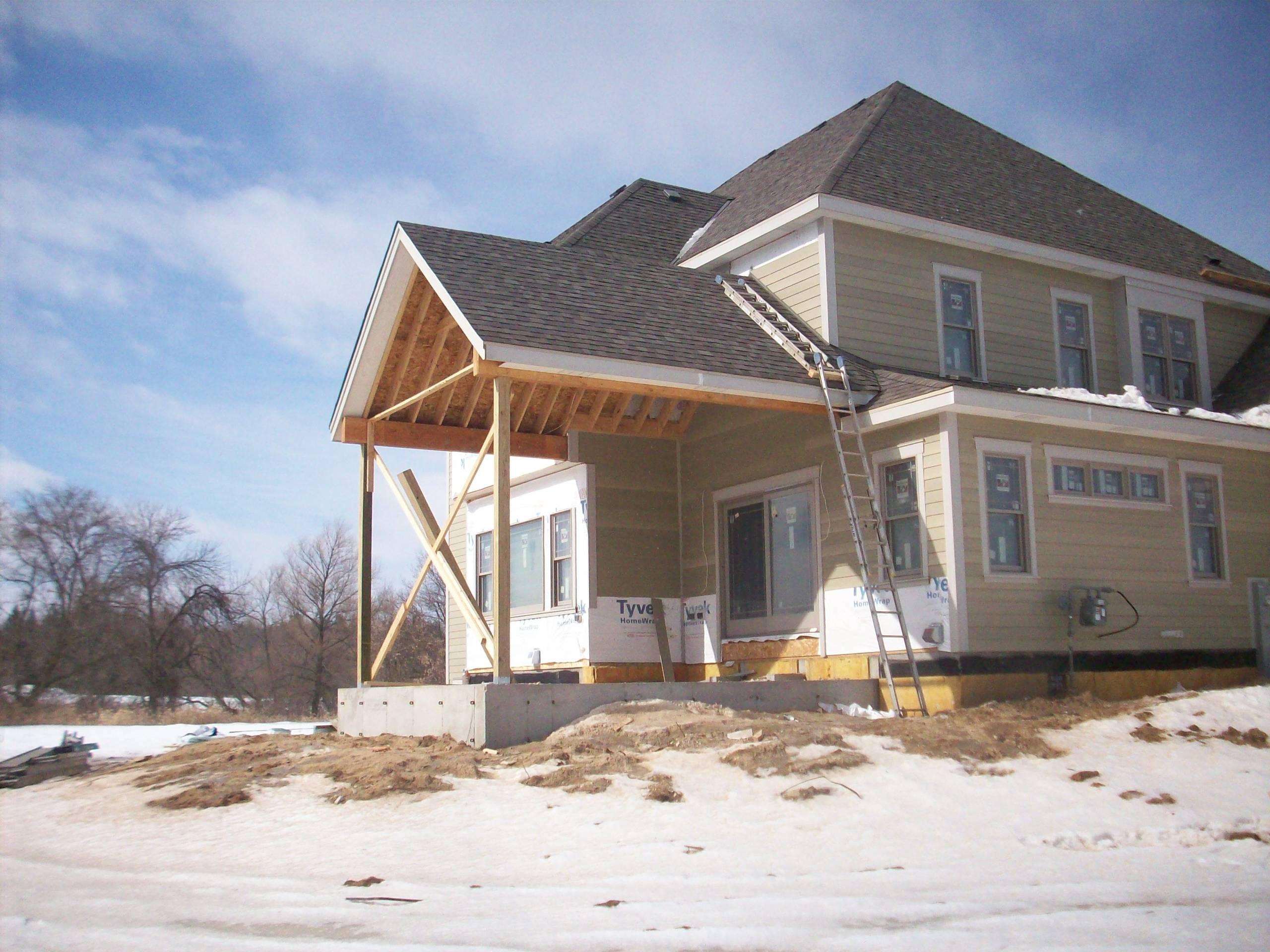 Craftsman New Home Landscape - Grafton