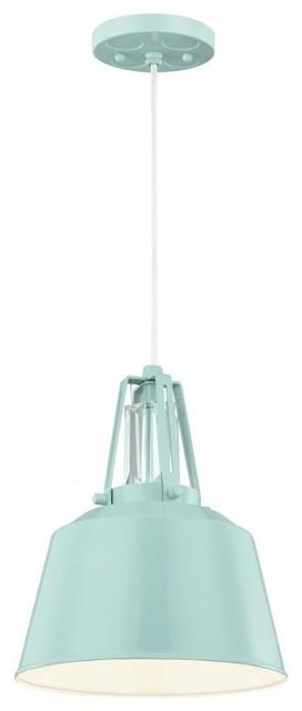 Freemont 1-Light Mini Pendant Hi Gloss Blue