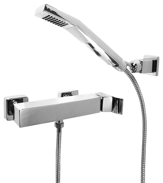 Maier - Surf Diamond Bathroom Hand Held Shower and Diverter Combo ...