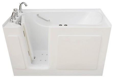 Signature Bath 54 X30 Walk In Whirlpool Air Combo Bathtub Conte