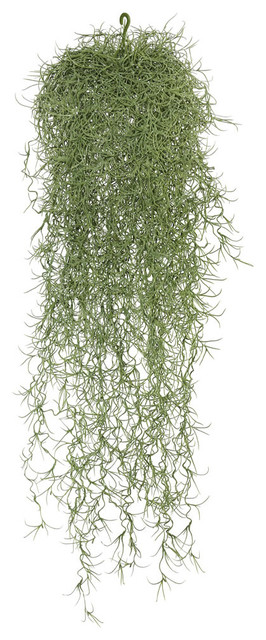 "29.5"" Powder Gray Long Hair Hanging Bush."