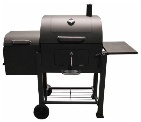 Landmann Usa 560202 Vista Charcoal Grill With Offset Smoker Box.
