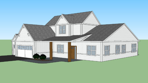 Gable Roof Versus Hip Roof   Online Roof Design