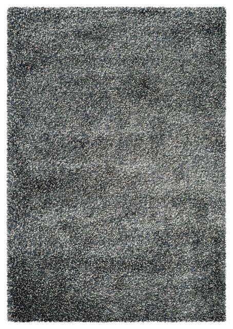 Safavieh new york shag blue blue contemporary area for Area rugs new york