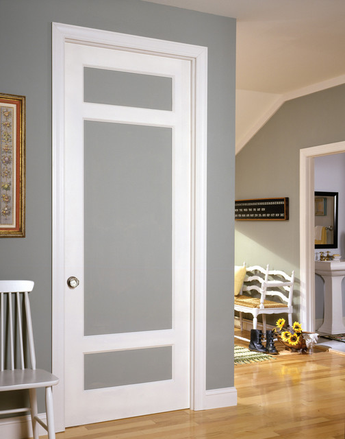 Farmhouse door traditional interior doors by for Painted interior doors