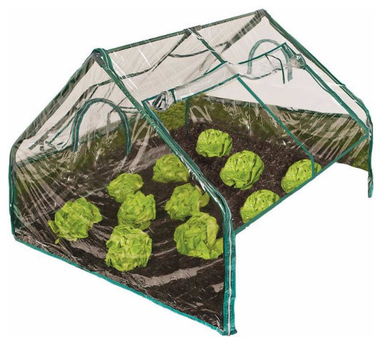 "Frame It All Pvc Greenhouse Kit, 4&x27;x4&x27;x36""."