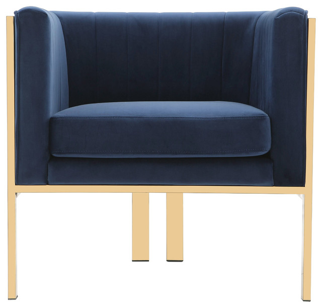 Paramount Accent Armchair, Royal Blue