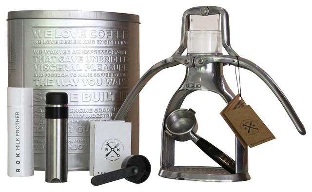 The ROK Espresso Maker