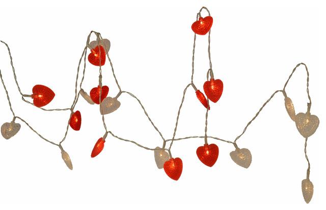 Christmas Heart Garlands, Set of 4