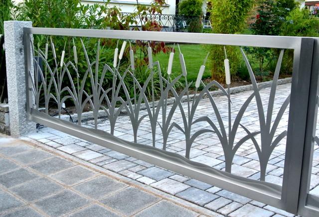 Stainless Steel Driveway Gates Edelstahl Einfahrtstore