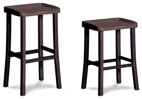 Greenington Greenington Tulip Stool Black Walnut