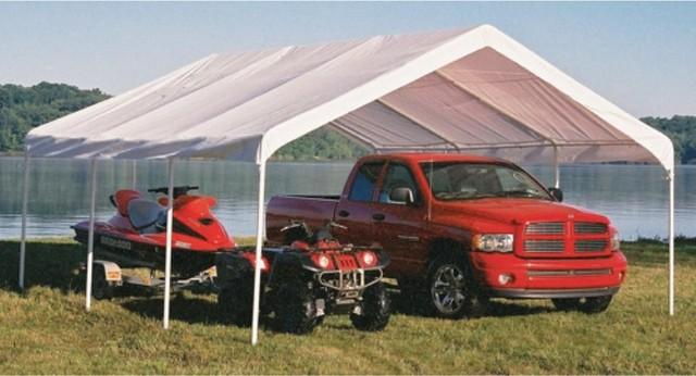 Super Max 18&x27;x20&x27; White Premium Canopy