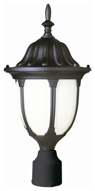Trans Globe 4042 Bk Avignon Black Outdoor Post Light.