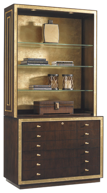 Shop Houzz | Lexington Home Brands Lexington Bel Aire, Beverly Palms Home Office Set - Filing ...