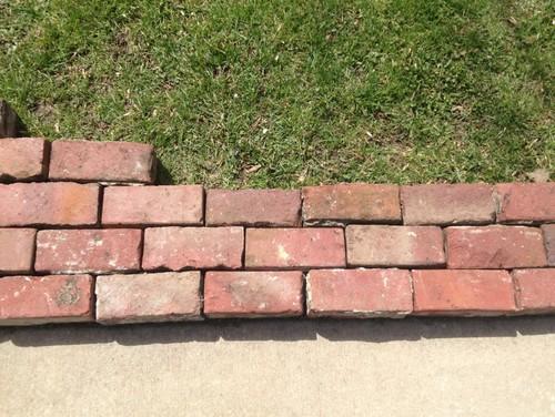 Brick Patio Retaining Wall