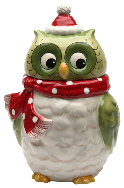 Owl Cookie Jar Contemporary Kitchen Canisters And Jars