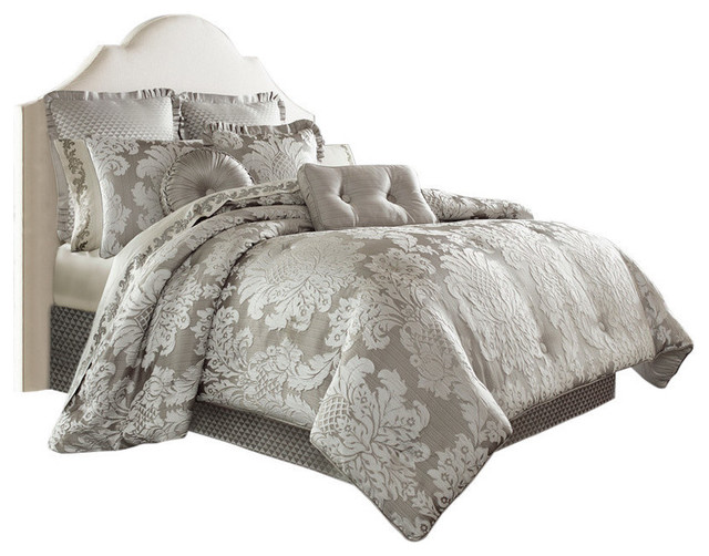 Carly Comforter Set Traditional Comforters And