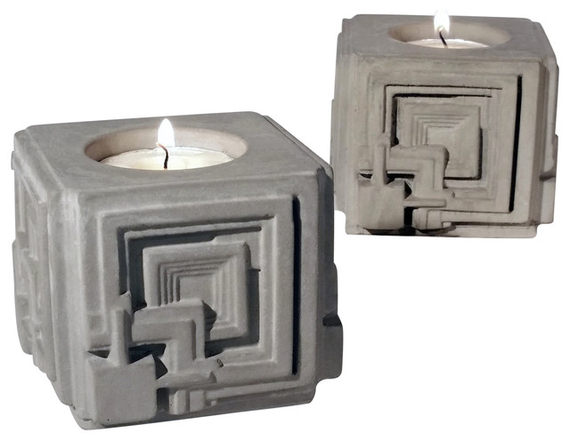 Frank Lloyd Wright Ennis House Candle Holder