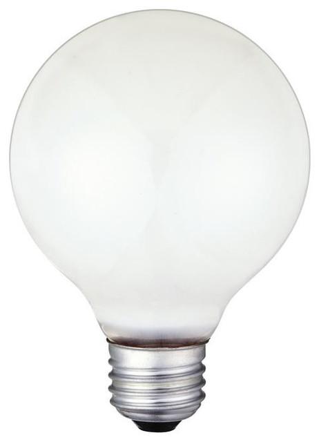 25 Watt G25 Incandescent Light Bulb Traditional Incandescent Bulbs By Lighting Supply Group