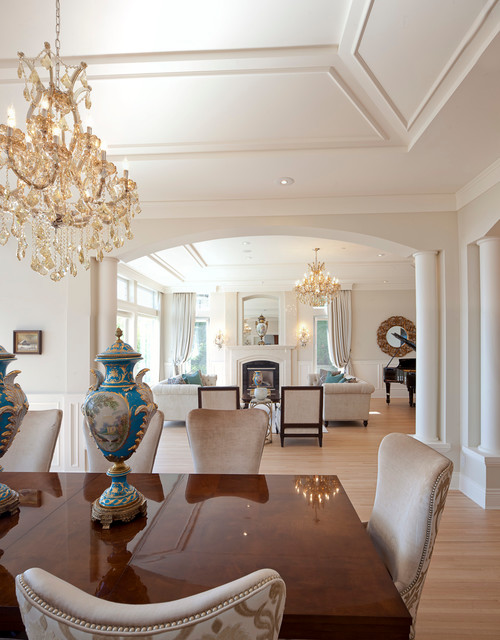 WEST VANCOUVER BRITISH PROPERTIES Transitional Dining Room Vancouver By Sublime Interior