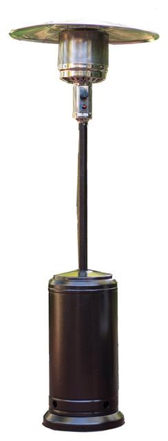 Sunheat Classic Umbrella Design Portable Propane Patio Heater, Mocha.