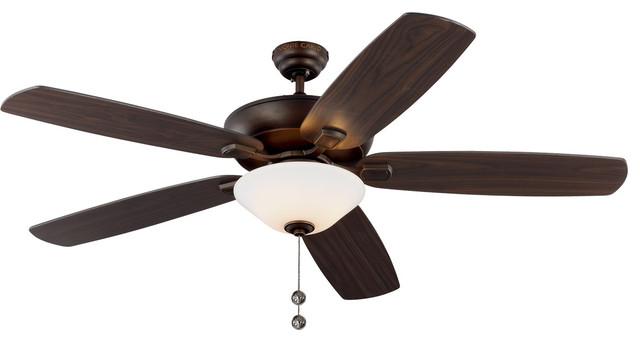 Colony Super Max Plus 3-Light Indoor Ceiling Fans, Roman Bronze.