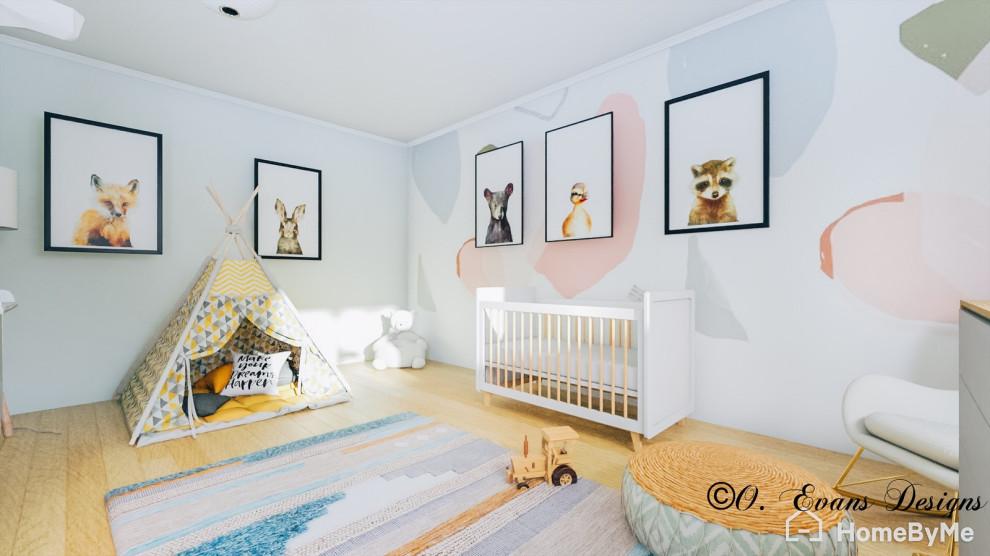 Fun & Modern Nursery Room Design