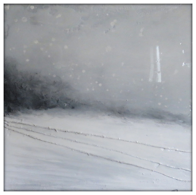 Modern Picture Print on Canvas Winter Landscape 30 it forms 3854