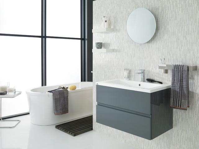 Porcelanosa bathroom vanities moderno stanza da bagno - Stanze da bagno moderne ...