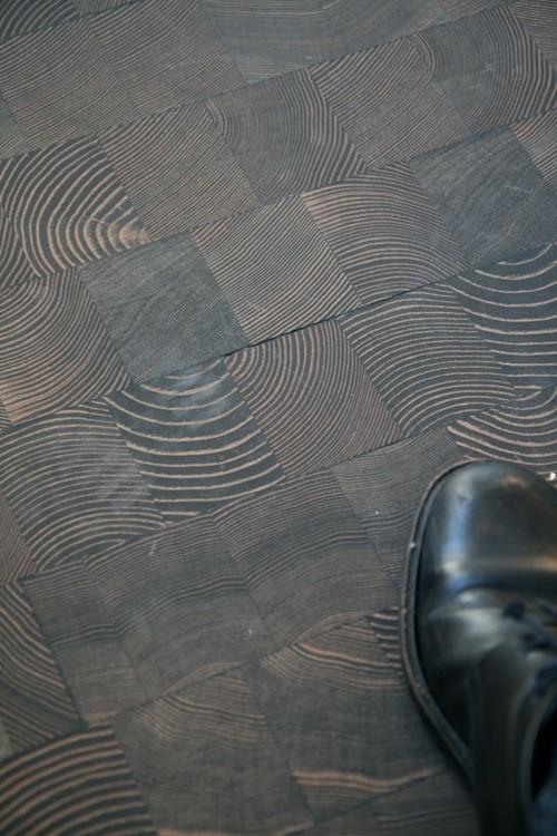 End Grain Wood Block Flooring