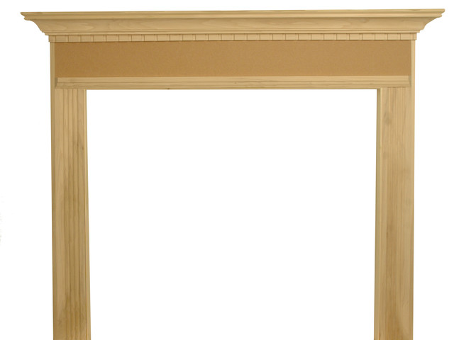 """Sterling Fireplace Mantel, Unfinished, 48""""x42""""x1.5""""."""