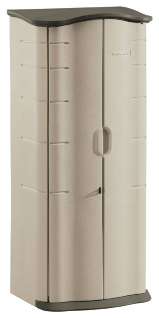 Heavy Duty Vertical Outdoor Cabinet Weather Resistant Storage Shed - Sheds - by Hilton Furnitures