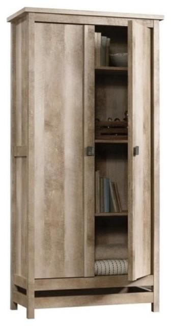 Pemberly Row Storage Cabinet in Fossil Oak