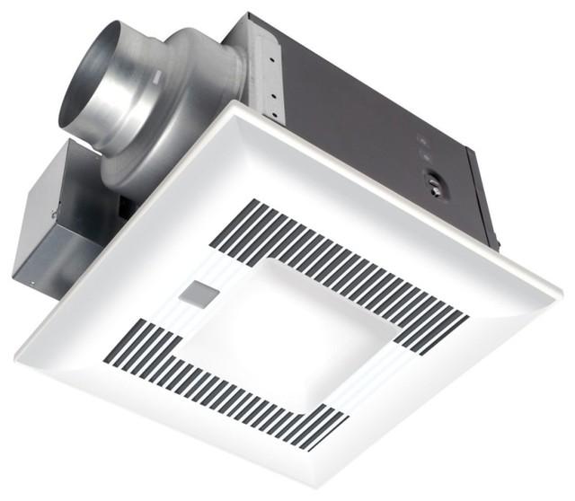 Utilitech 2 Sones 70 Cfm White Bathroom Fan Room Light: Panasonic Whispersense-Lite 0.3-Sone 80-CFM Bathroom Fan