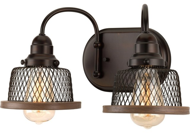 Luxury Vintage Bathroom Vanity Light Eugene Series Olde Bronze