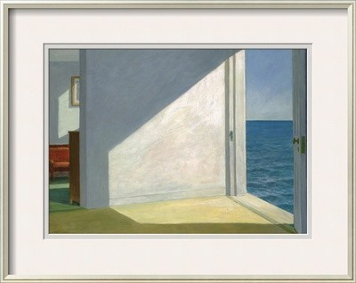 Rooms By The Sea By Edward Hopper.