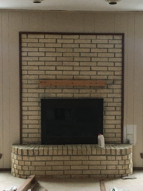 painting fireplace white fireplace brick paint or white wash