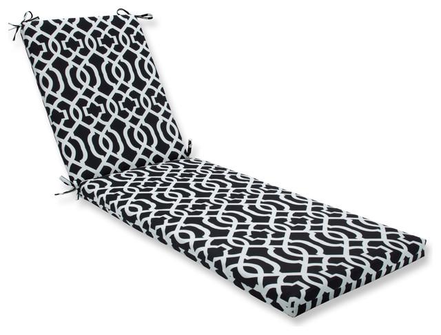 New Geo Black/white Oversized Chaise Cushion.