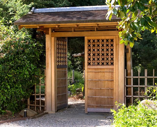 Entrance gate mon san francisco by ki arts for Japanese gates pictures
