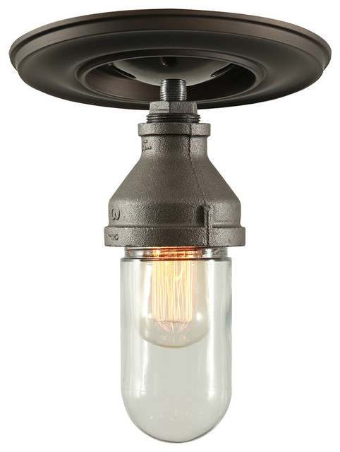 West ninth vintage wilfred ceiling light with shatterproof glass wilfred ceiling light with shatterproof glass industrial flush mount ceiling lighting aloadofball Choice Image