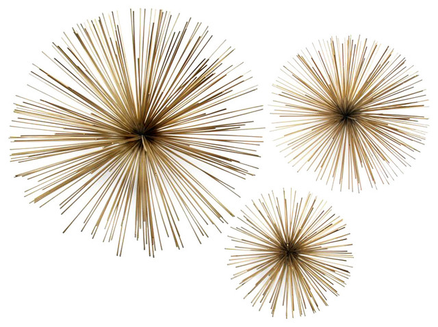 Two&x27;s Company Wall Flowers, Set Of 3. -1