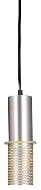 George Kovacs P9451-2-614 Larry Pendant Light, Satin Aluminum.