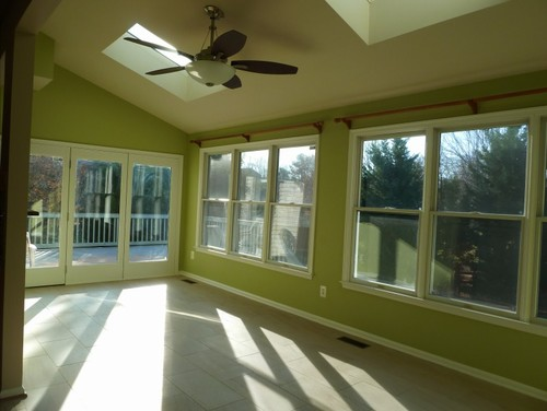 sunroom paint colorsNeed help with sunroom paint color to go w bluecushiongray wicker