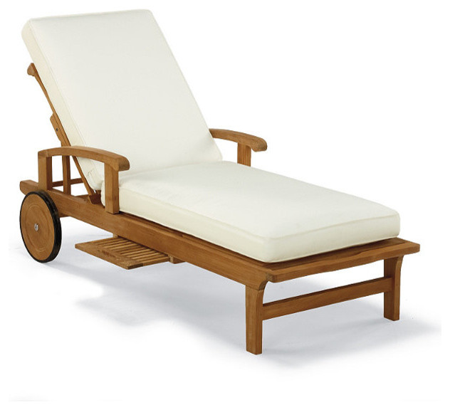 Bon Cassara Outdoor Chaise Lounge Chair With Cushions   Frontgate, Patio  Furniture