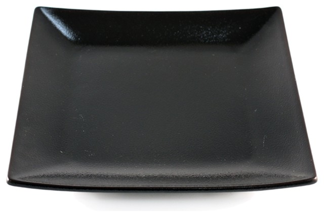 Tenmoku Glazed Square Black Plate Asian Dinner Plates  : asian dinner plates from www.houzz.com size 640 x 428 jpeg 35kB