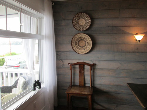 What Is On The Shiplap Is It Stain Or Paint