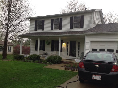 Update Front Of 1980s Colonial