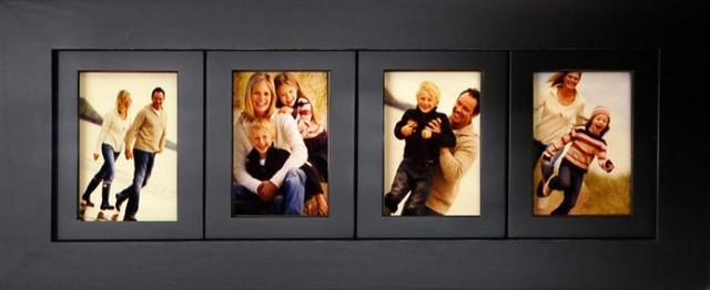 4 opening 4 x 6 collage picture frames wood 4 frame openings rustic picture